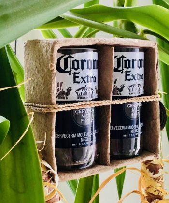 Corona Extra set of drinking glasses 02